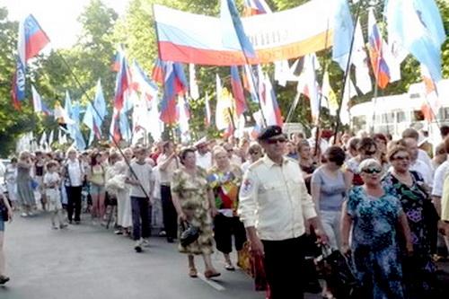 Крым. Вместе с великой Россией (ВИДЕО)