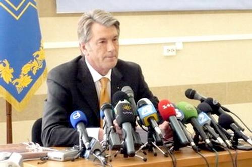 Виктор Ющенко пугал народ ПРОЕКТАМИ