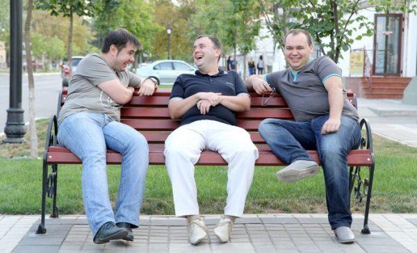 Фото из «лички» Севастьянова (слева-направо: Гончаров, Севастьянов, Георгиев
