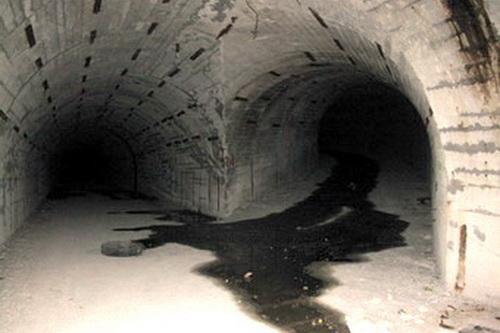 Подземный бункер в Алсу