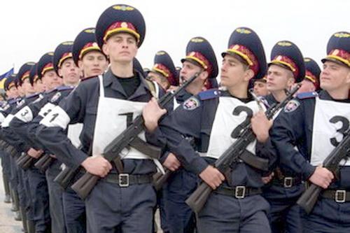 Идет подготовка к Параду Победы