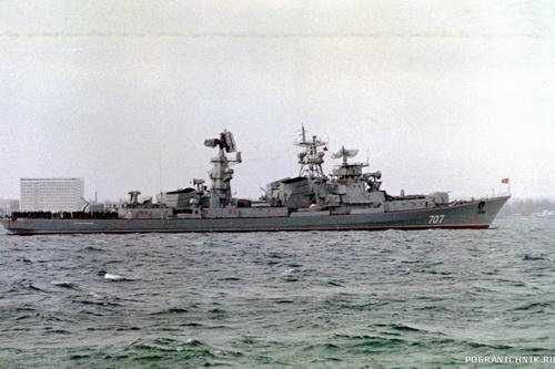 «Поющий» фрегат с «Ураганом» на борту