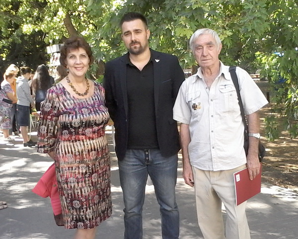 Букфест — Е.Осминкина, П.Беседин, А.Масалов
