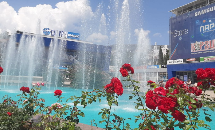 Площадь Советская в Ялте заиграет новыми красками