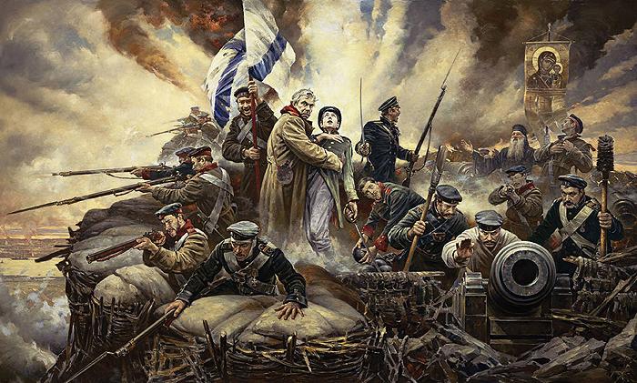 Подвиг воинов Русской армии в годы Крымской войны бессмертен