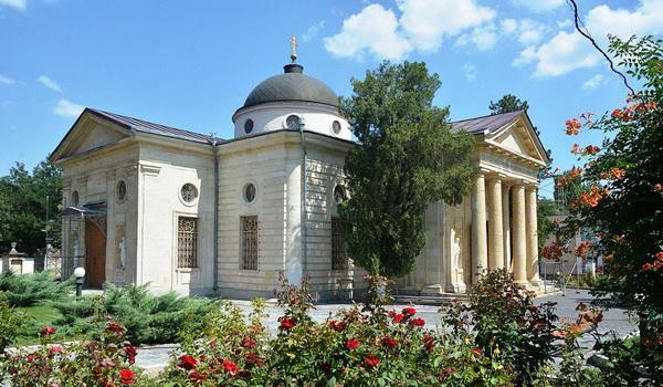 Центр Херсона. Екатерининский собор