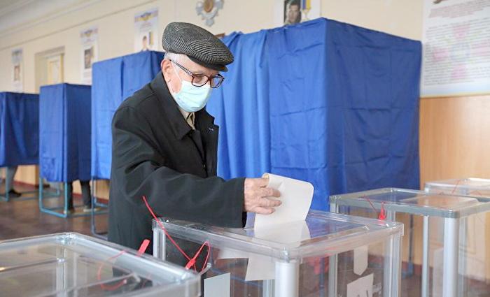Выборы на Украине, провал партий власти и войны