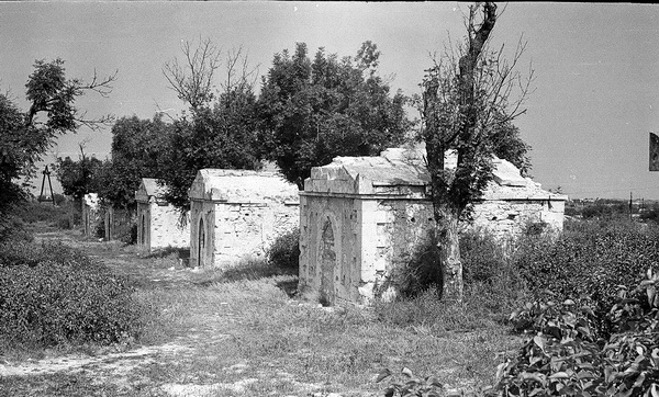 Француское кладбище в Севастополе, ретрофото