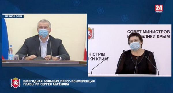 Вопрос от Натальи Гаврилевой, главреда интернет-газеты «Крымское Эхо»