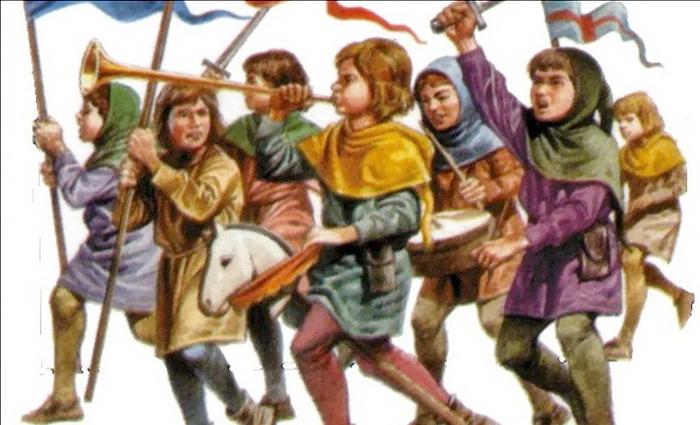 Крестовый поход «онижедетей»