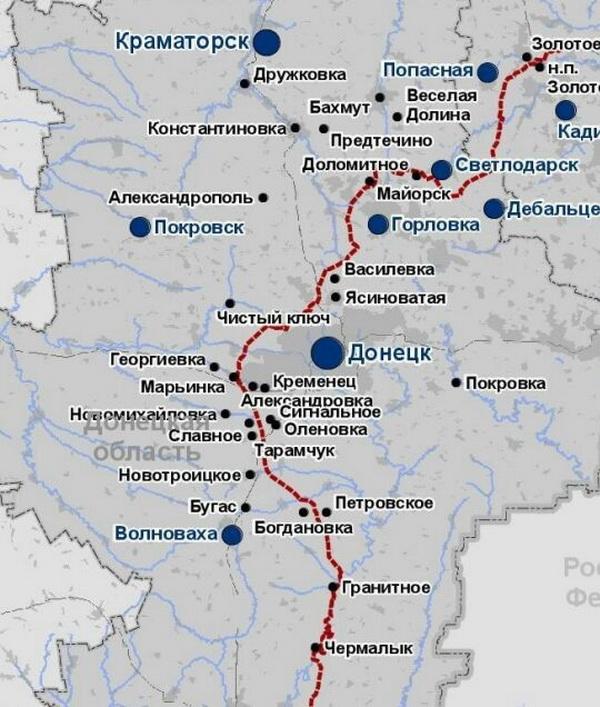 Донбасс, линия фронта фото 04 03 2021