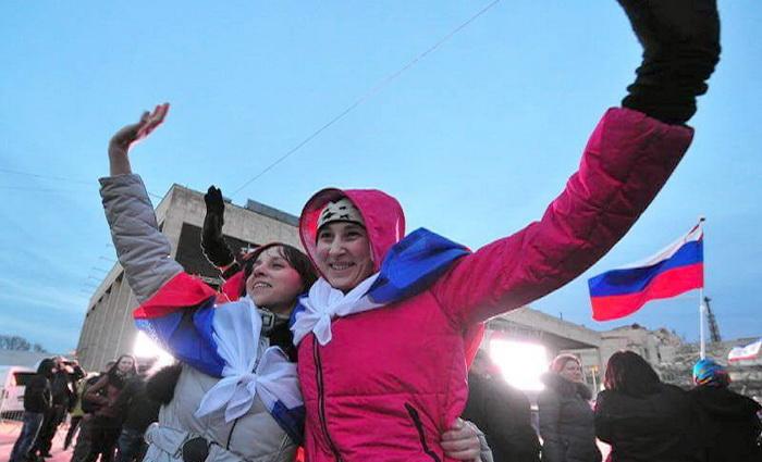 Крым выбрал будущее