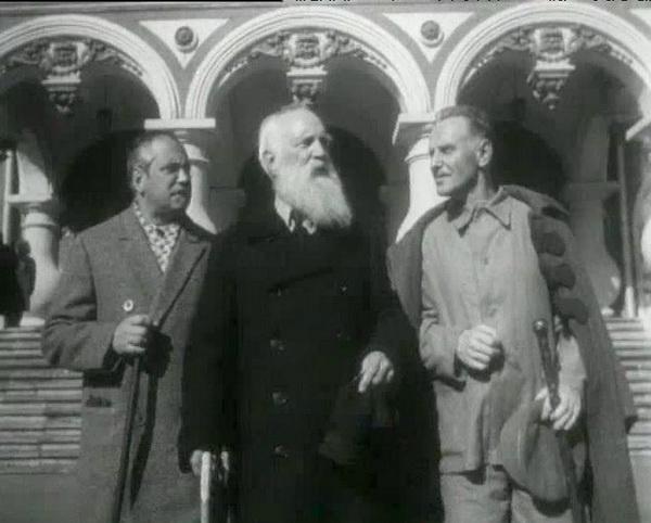 Кадр из старого советского фильма «Трест»