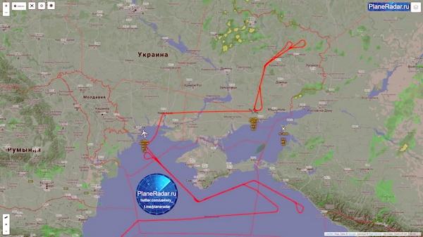 Беспилотник ВВС США «RQ-4B Global Hawk» провел полёт в закрытом воздушном пространстве над Чёрным морем вблизи Крымского полуострова, разведывательный БПЛА взлетел с авиабазы Сигонелла на Сицилии