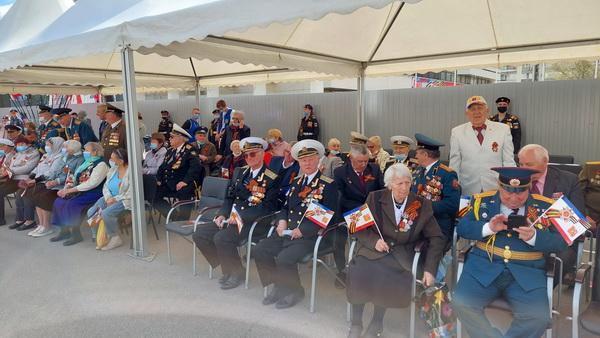 Ветераны к параду готовы