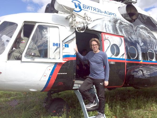 В некоторые места в России, например, на Камчатке, можно добраться только на вертолете