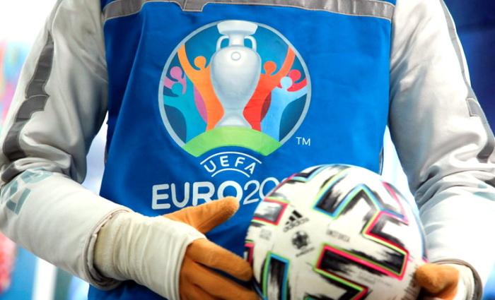 На матч между сборными России и Украины по футболу