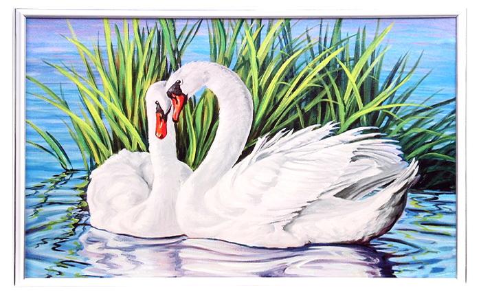 Лебеди на коврике