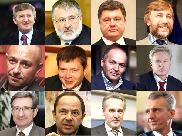А с чего бы им грустить, этим украинским олигархам: жизнь им Украину в качестве бонуса подарила