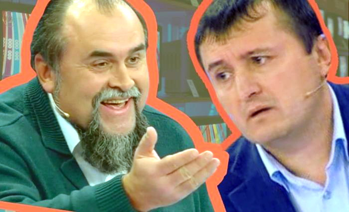 Муляжи украинских «экспертов» на российском телевидении
