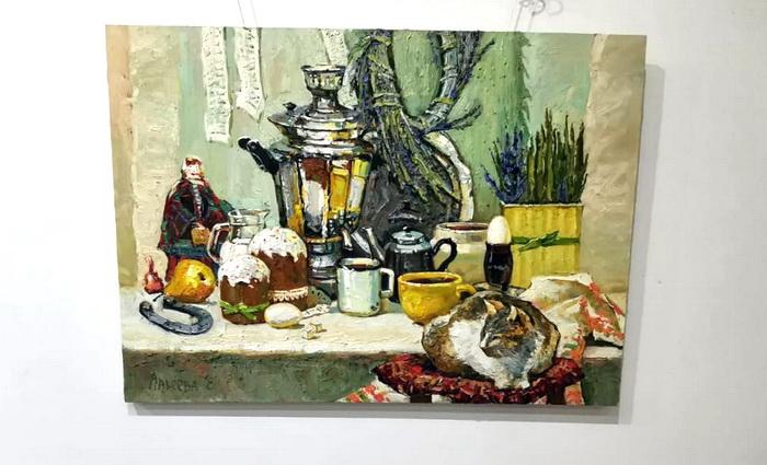 «Разные истории» Елены Макеевой в Художественной галерее Никитского сада