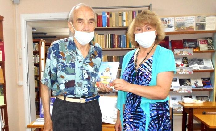 Новая крымская книга – в подарок библиотеке