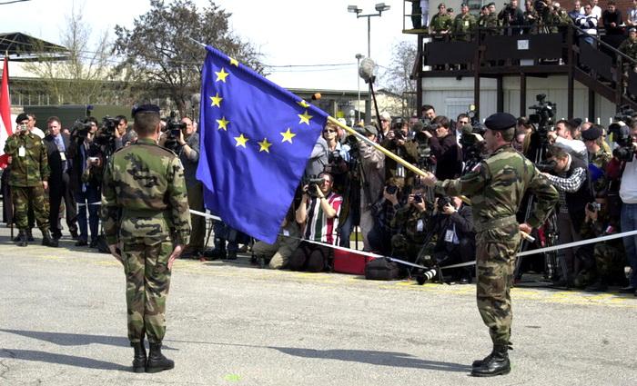 И снова эта бесконечная сага о могучей европейской армии
